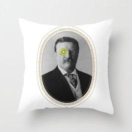 Teddy Kiwi Throw Pillow