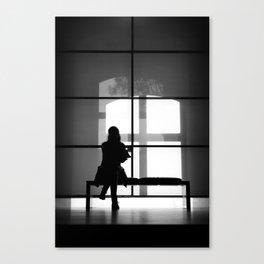 Silluette Canvas Print