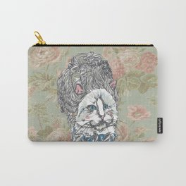 Meowrie Antoinette Carry-All Pouch