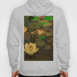 Summer Waterlily Pond Hoody