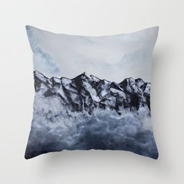 Mount Cook Throw Pillow