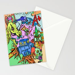 A+ Tension (Attention) Stationery Cards