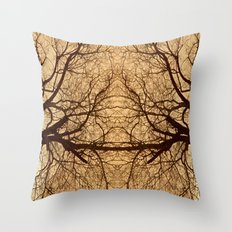 Branches x2 Throw Pillow