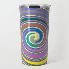 Rainbow swirl pattern Travel Mug