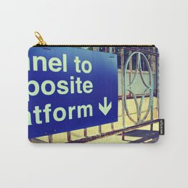 Tunnel to Opposite Platform Carry-All Pouch