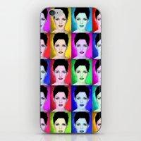 emma watson iPhone & iPod Skins featuring Emma Watson by Joe Hilditch