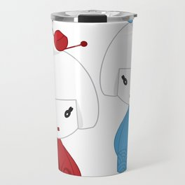Japanese dolls Travel Mug