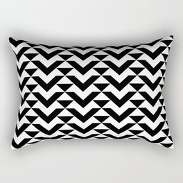 BW Tessellation 6 1 Rectangular Pillow