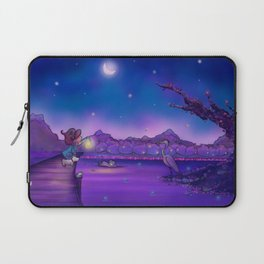 The Unexpected Visitor Laptop Sleeve