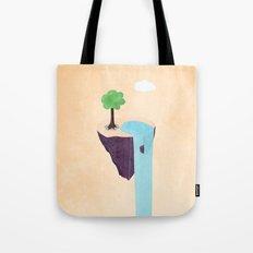Floating Island Tote Bag