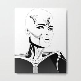 Luminous Metal Print