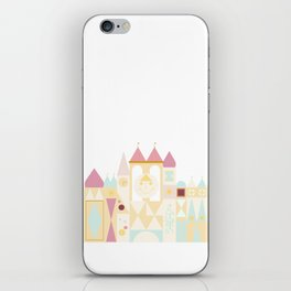 Happy Castle - Pink Variation iPhone Skin