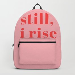 still I rise XIV Backpack