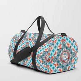 Decorative Lovebirds Duffle Bag
