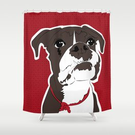 American bull Shower Curtain