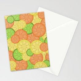 Zesty Pattern Stationery Cards