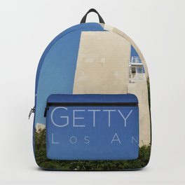 Blue Sky at the Getty Backpack