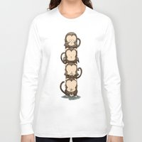 totem Long Sleeve T-shirts featuring totem by Caramela