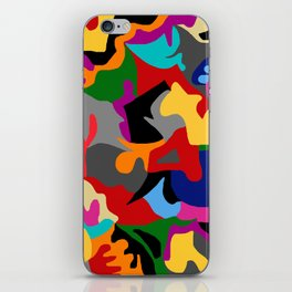 Unconscious colorful iPhone Skin