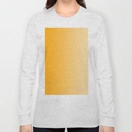 Orange to Pastel Orange Vertical Linear Gradient Long Sleeve T-shirt