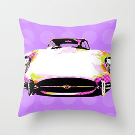 Pop Jag Throw Pillow