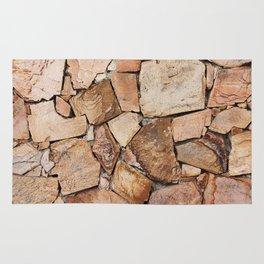 Rough Stone Wall Rug