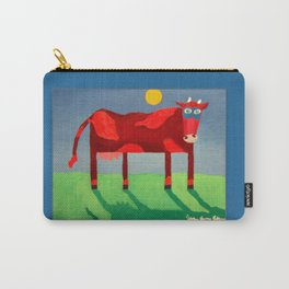 Udderly Confused - Funny Cow Art Carry-All Pouch
