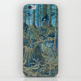 Forest Salmon Run  iPhone Skin