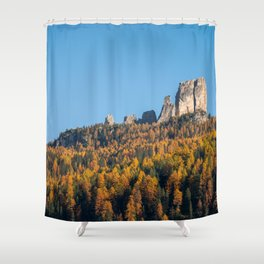 Dolomites 13 - Italy Shower Curtain