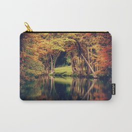 From the Still River, Magic Flowed Carry-All Pouch