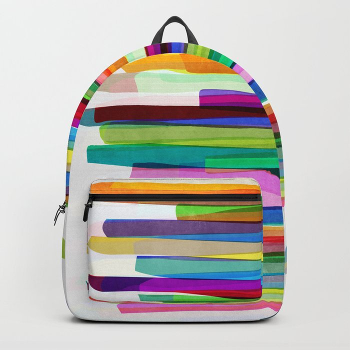Colorful Stripes 1 Backpack