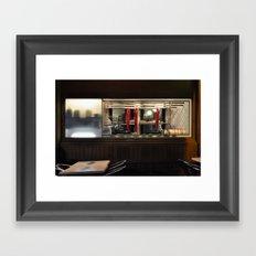 Meat Me Framed Art Print