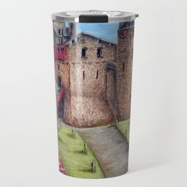 Castell Coch (Red Castle) - Spring Travel Mug