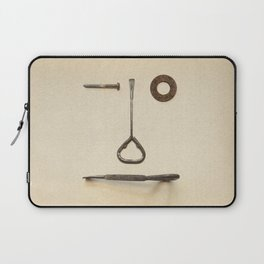 the Forgotten Workshop series- tool face Laptop Sleeve