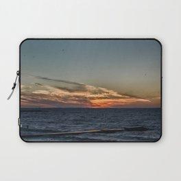 Summer sunset on lake Ontario Laptop Sleeve
