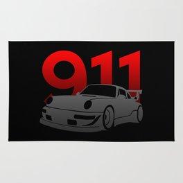 Porsche 911 Rug