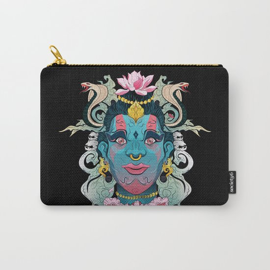 Hindu God Shiva Carry-All Pouch