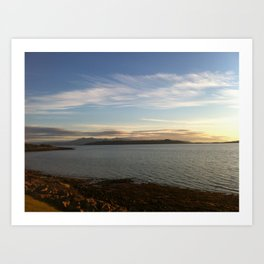 Fintry Bay Millport Art Print