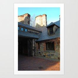 Stone Barns, Tower, NY Art Print