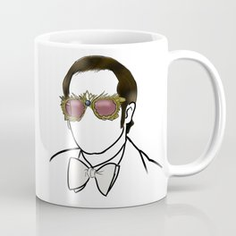 Elton Rock Icon Silhouette Coffee Mug