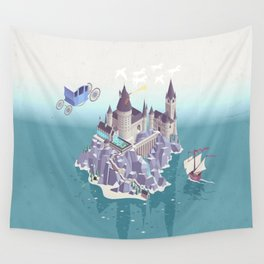 Hogwarts series (year 4: the Goblet of Fire) Wall Tapestry