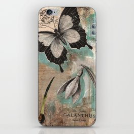 Botanical Collage  iPhone Skin