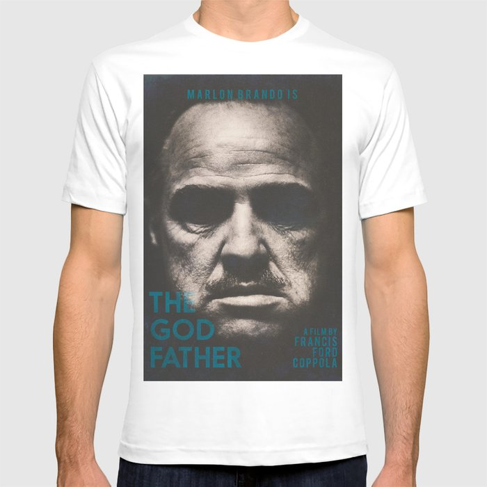 Al Pacino The Godfather T shirt; Marlon Brandon Al Pacino The Godfather shirt