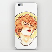 enjolras iPhone & iPod Skins featuring Enjolras by chazstity