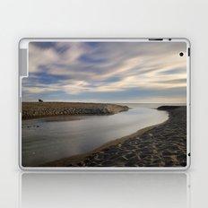 Looking at the sea ... Beach life Laptop & iPad Skin