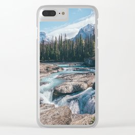 Raw Nature Clear iPhone Case