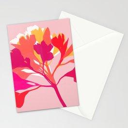 alstroemeria 3 Stationery Cards