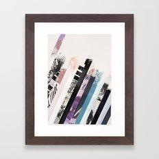 STRIPES 6 Framed Art Print
