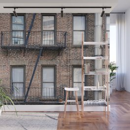 New York Fire Escape Wall Mural