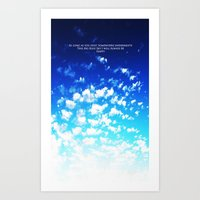 martell Art Prints featuring Under the Same Sky by G Martell